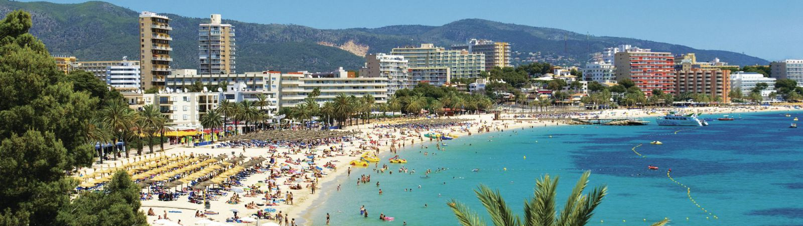 Magaluf strand